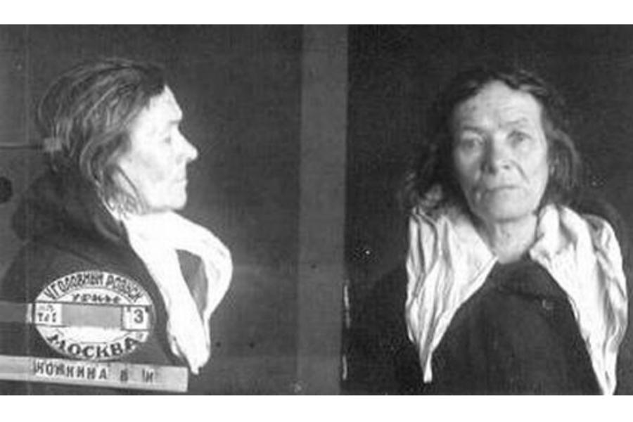 Тюремное фото Варвары Конкиной