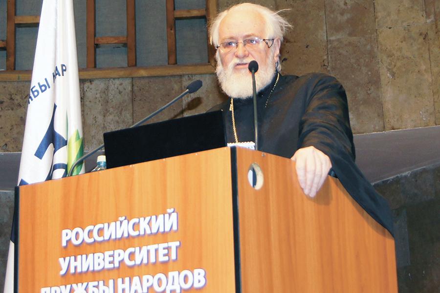 Профессор МДА протоиерей Владислав Цыпин
