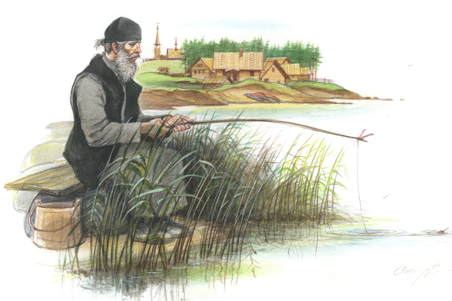 Иллюстрация Валерия Смирнова к рассказу протоиерея Ярослава Шипова