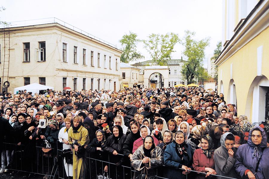 Канонизация Матроны Московской
