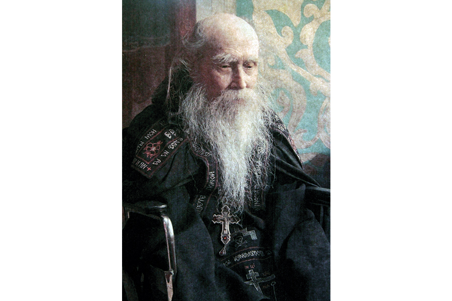 Схиархимандрит Михаил (Балаев) старец монастыря