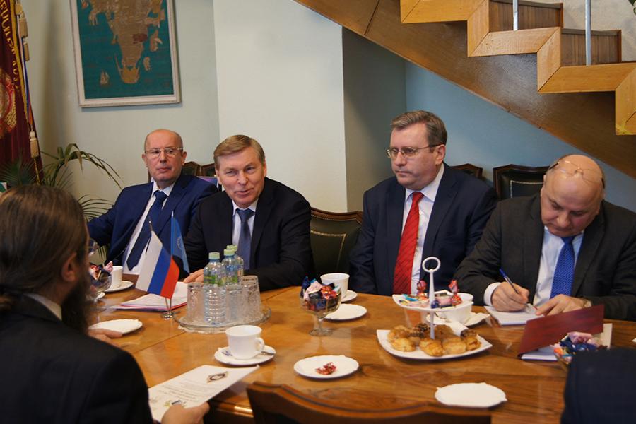 Чаепитие у ректора РУДН Филиппова