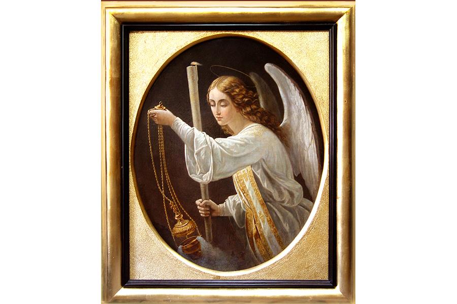Ангел молитвы. Работа святителя Феофана