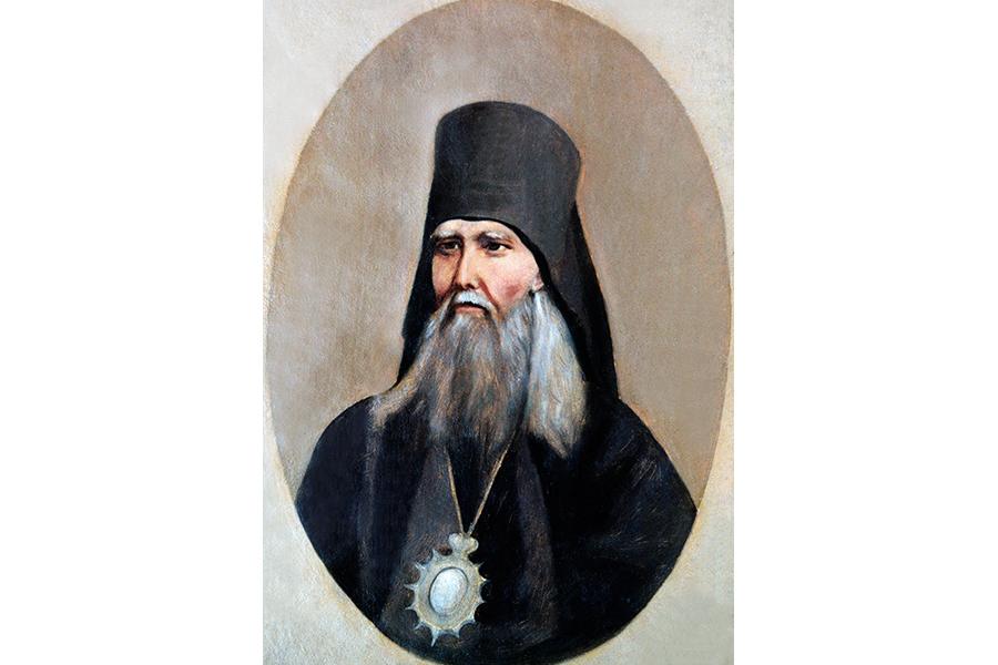 Автопортрет святителя Феофана
