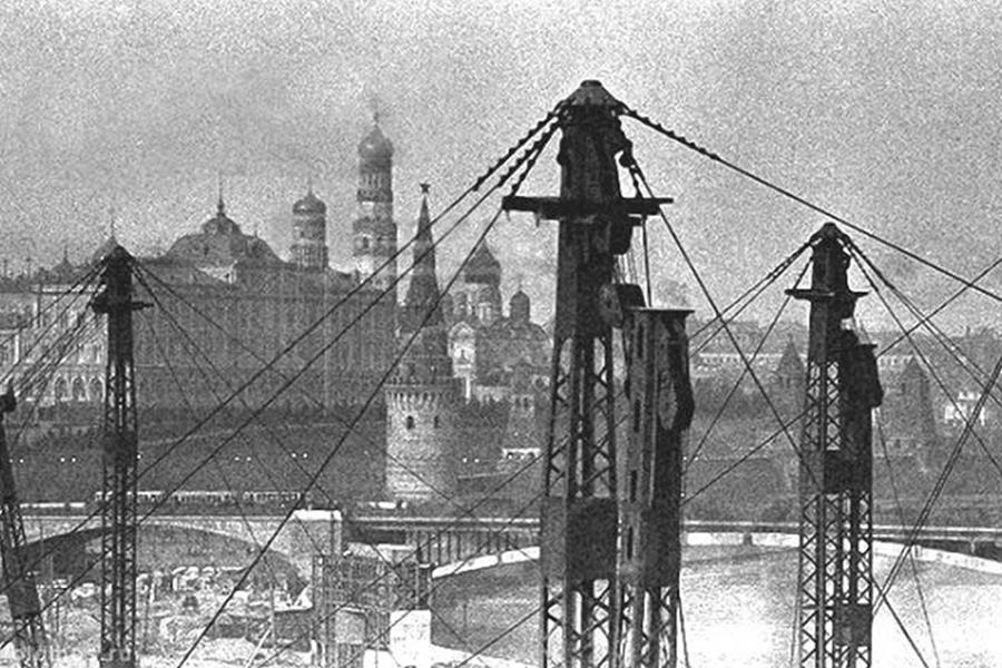 Каркас Дворца Советов