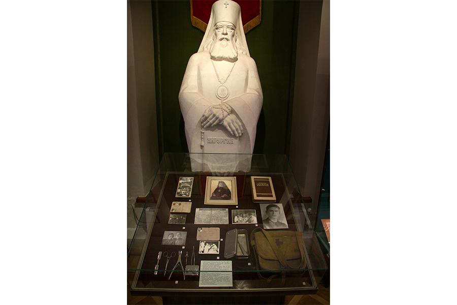 Личные вещи святителя Луки в Музейно-выставочном комплексе2