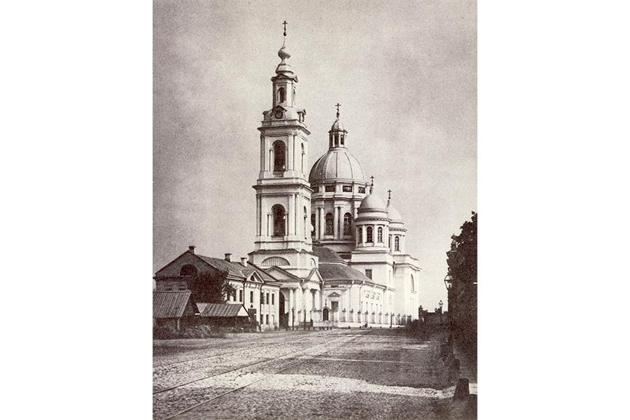 Богоявленский собор в Москве, где крестили Пушкина