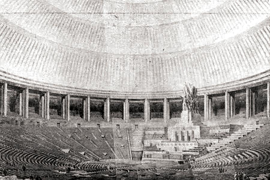 Большой зал Дворца Советов