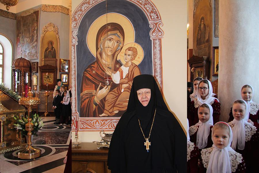 Настоятельница Свято-Никольского Черноостровского женского монастыря игумения Николая (Ильина)