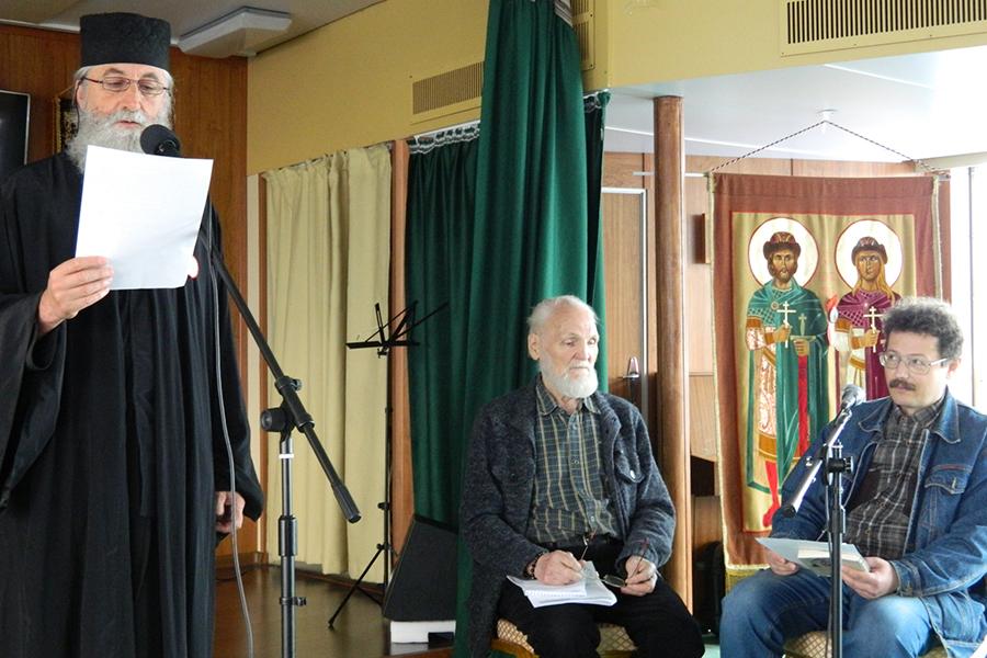 Выступление протоиерея Иоанна Пламенаца