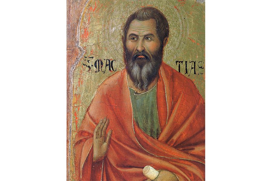 Апостол Матфий, Дуччо ди Буонисенья, Маэста