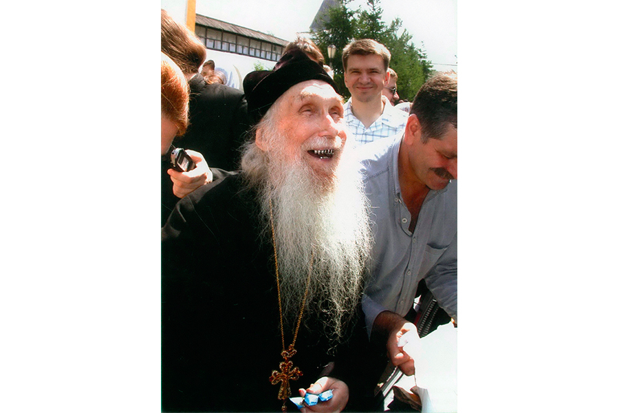 Архимандрит Кирилл любил добрую шутку