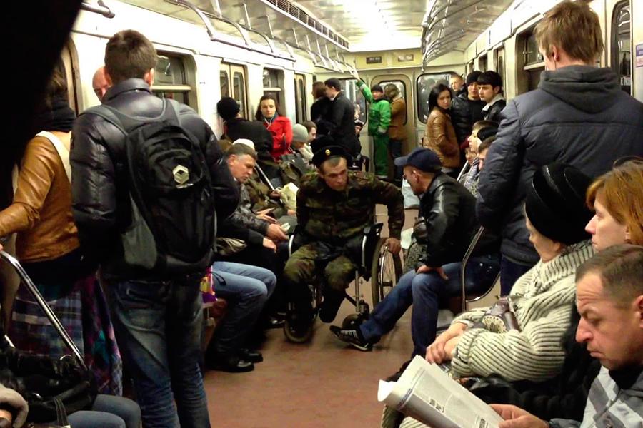 Попрошайничество в метро