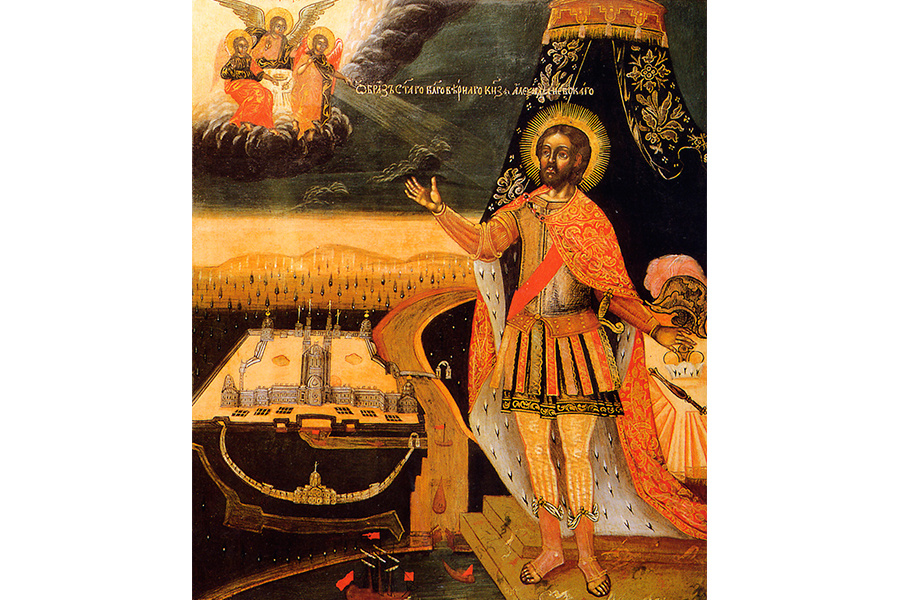 Образ святого благоверного князя Александра Невского
