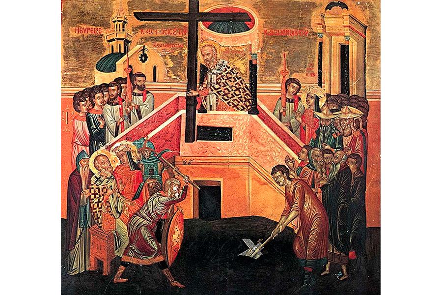 История обретения Креста