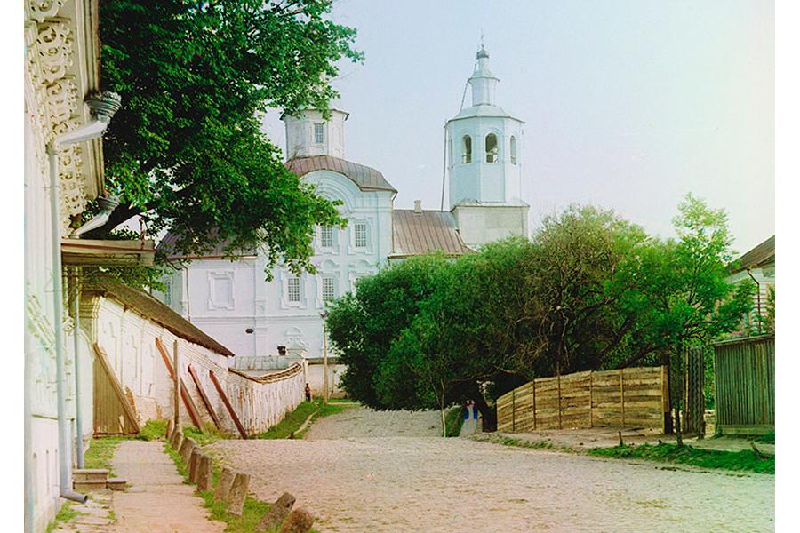 Спасо-Преображенсмкий Аврамиев монастырь в начале 20 века