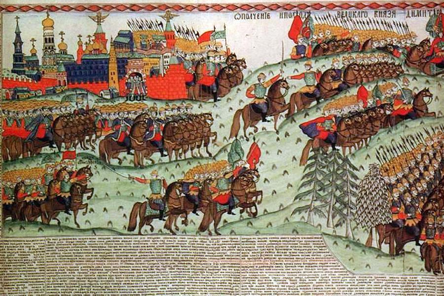 Поход Мамая на Русь, 1380 год