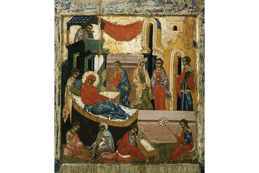 Рождество Пресвятой Богородицы, тверская икона