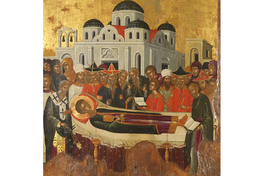Успение святого великомученика Дмитрия Солунского