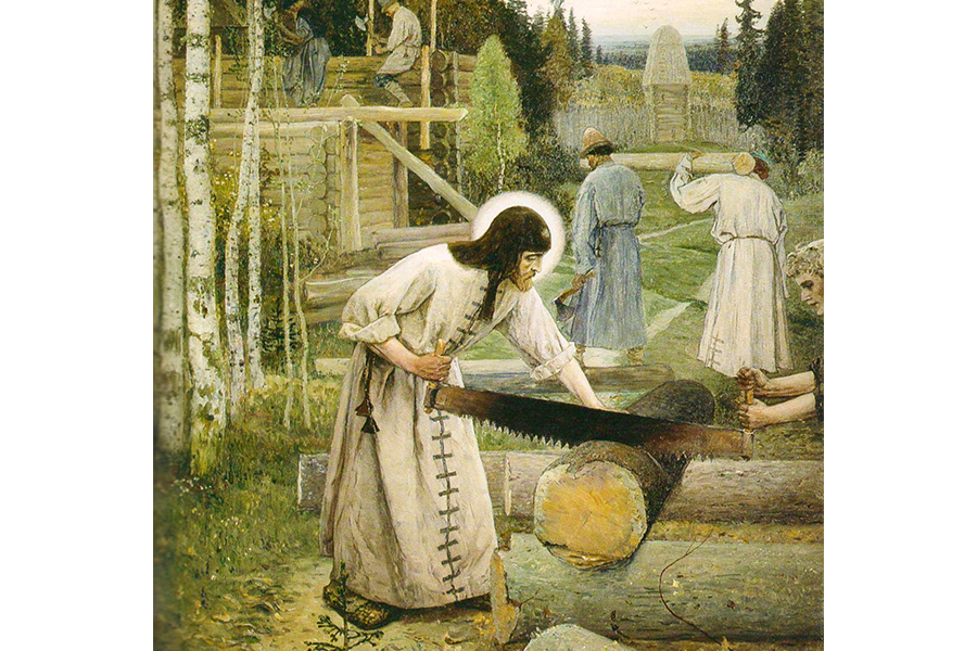 Сергий Радонежский в трудах земных