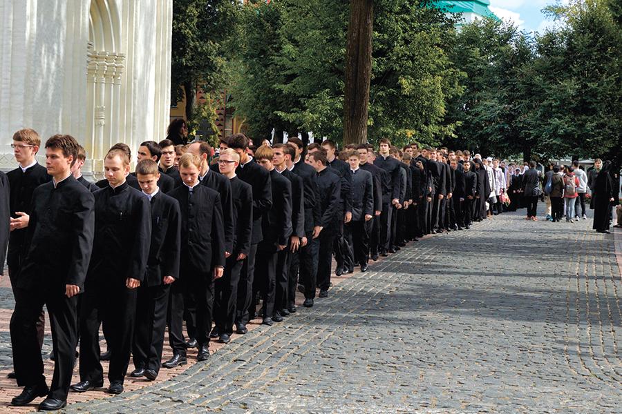 1 сентября в Московской духовной академии