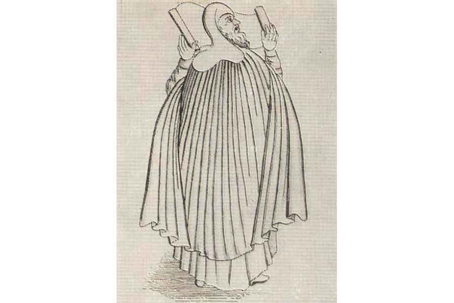 Авраамий Палицын с рисунка 17 века