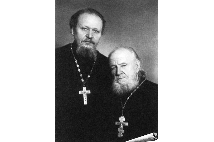 Священник Василий и протоиерей Гундяевы
