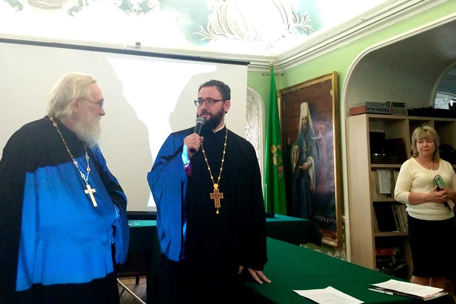 Игумен Киприан (Ященко) и протоиерей Тимофей Фетисов