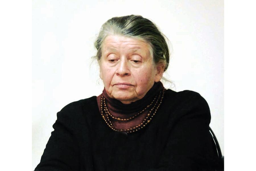 Научный консультант фонда Зинаида Петровна Иноземцева