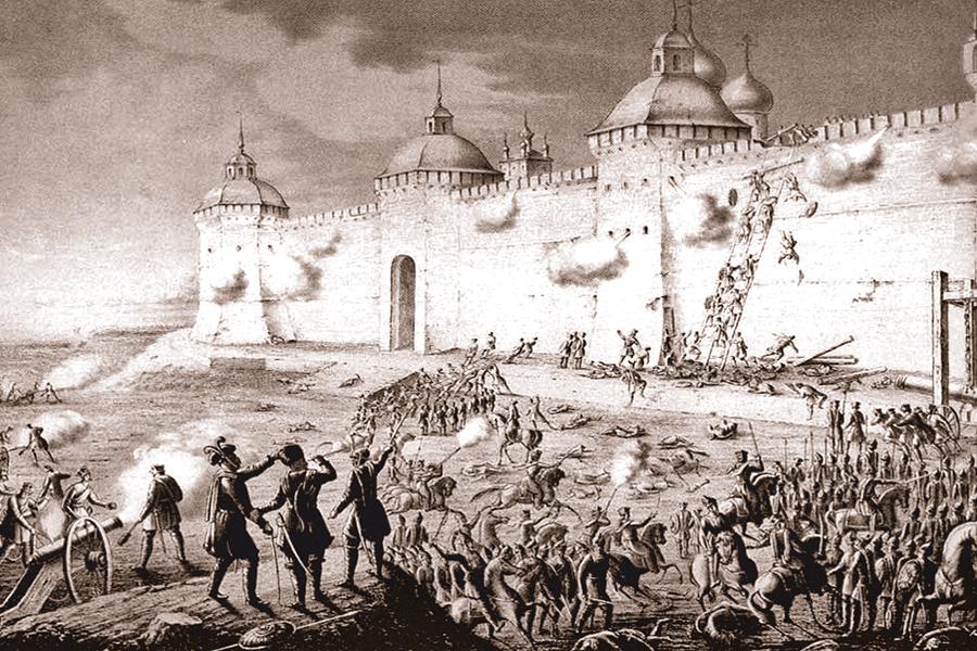 Осада Лавры в 1608