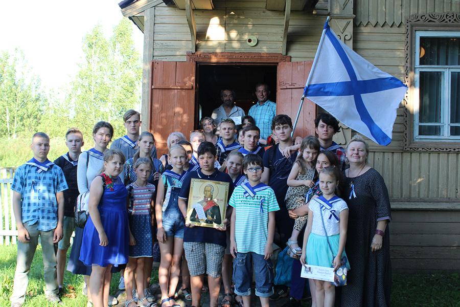 Посещение дома-музея писателя Новикова-Прибоя в Матвеевском