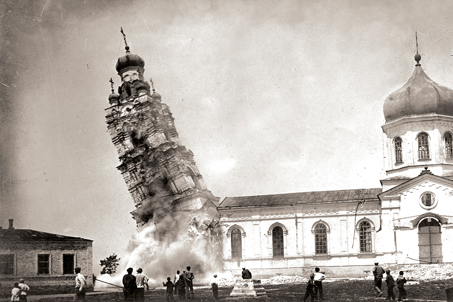 Разрушение храмов при Хрущеве