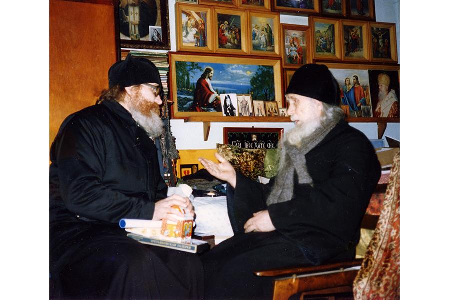 Старец Кирилл и игумен Киприан