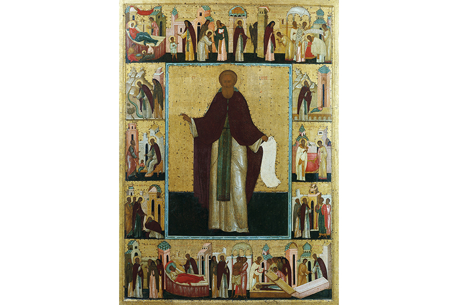 Святой Сергий Радонежский Икона