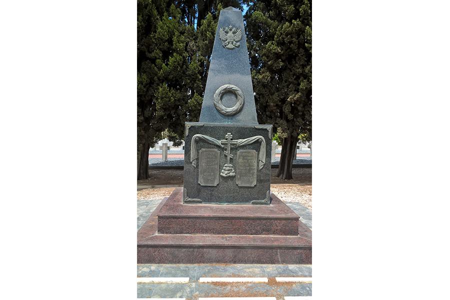 Памятник нашим соотечественникам