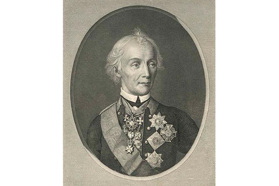 Александр Васильевич Суворов 1799 год