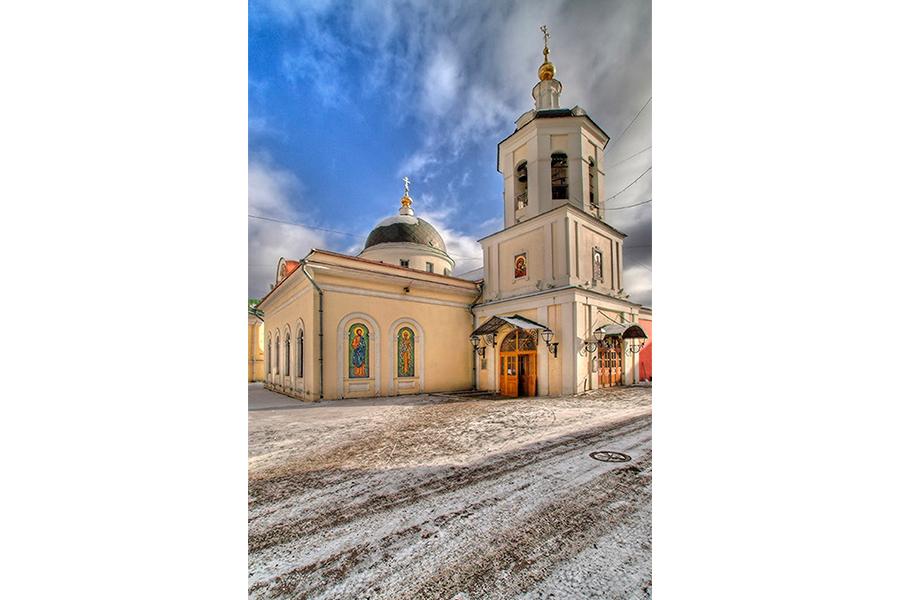 Церковь апостола Иакова Зеведеева в Москве в Яковоапостольском переулке