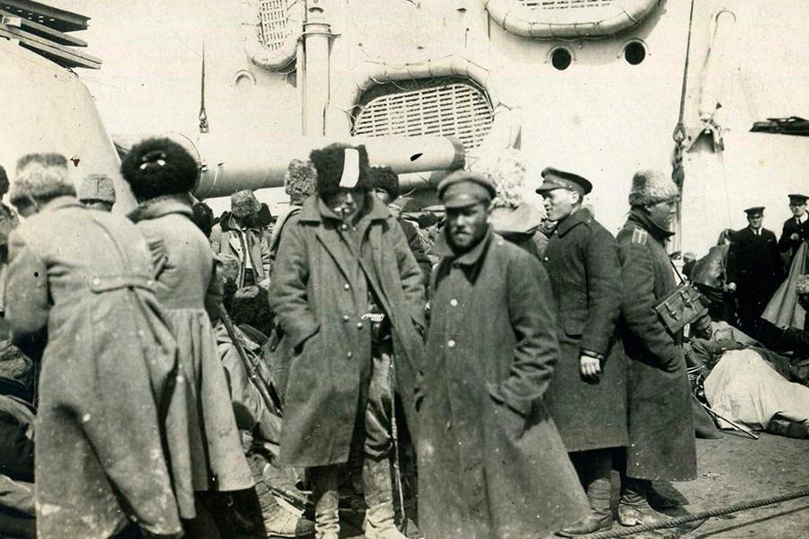 Исход русской армии из Новороссийска