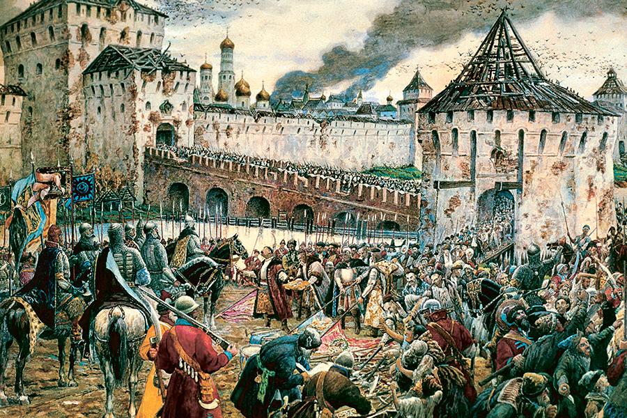 Изгнание поляков из Москвы