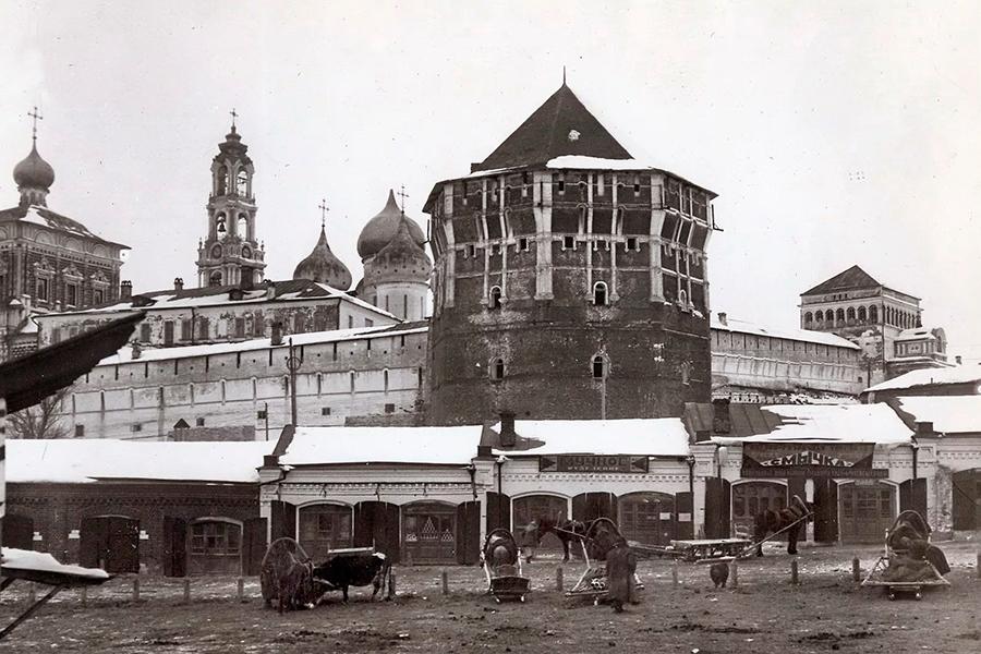 Троице-Сергиева Лавра в середине 1920-х гг.