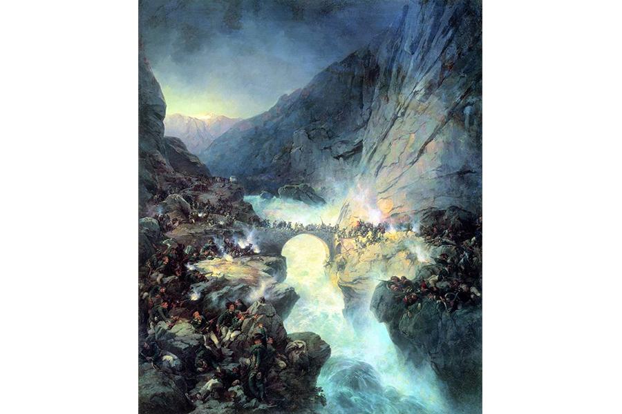 Бой на Чертовом мосту