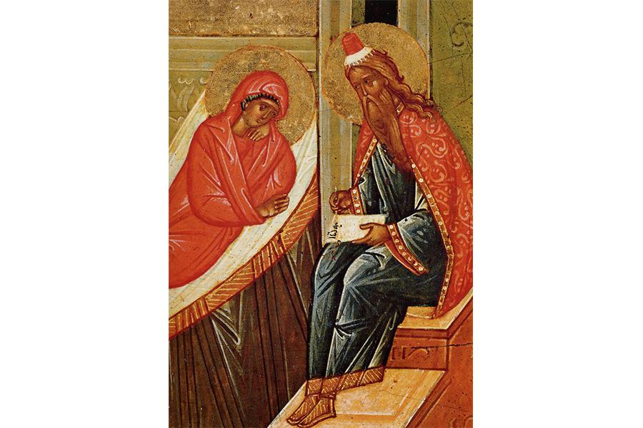 Святые праведные Захария и Елисавета
