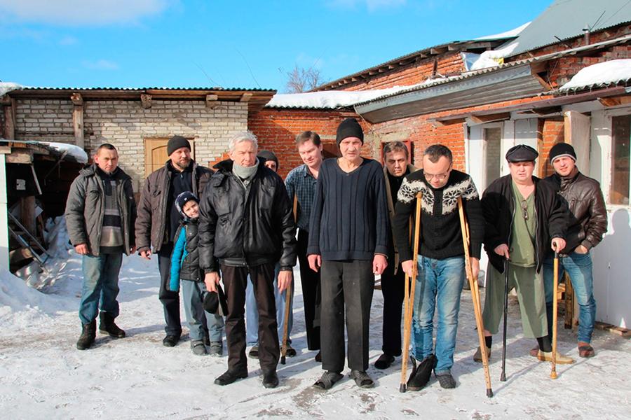 Постояльцы приюта в марте 2017 года