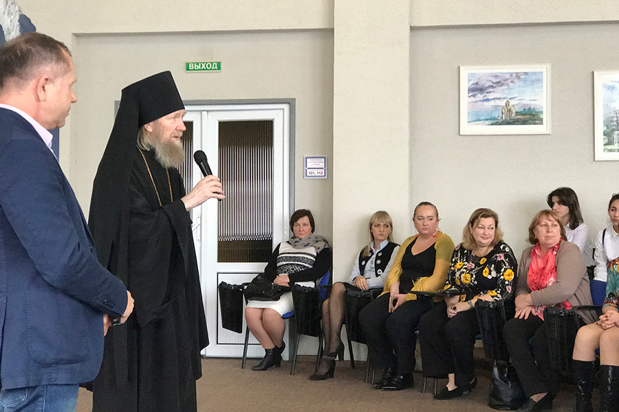 Профессор Московской духовной академии, доктор богословия архимандрит Платон (Игумнов)