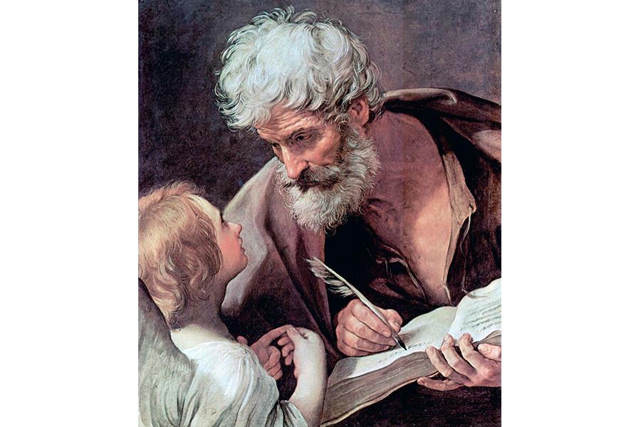 Святой апостол Матфей и Ангел
