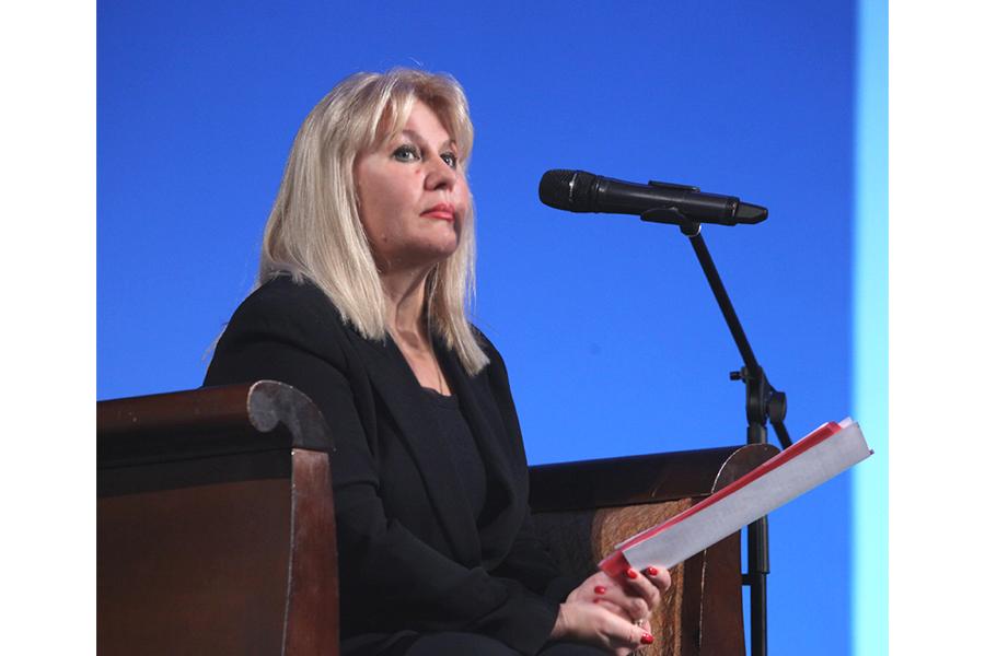 Заместитель главы администрации Сочи Ирина Романец