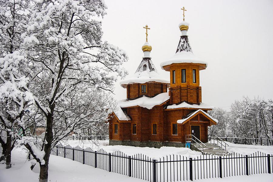 Храм Николая Чудотворца на Камчатке