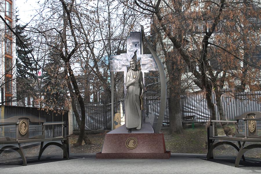 Памятник отцу Павлу Флоренскому