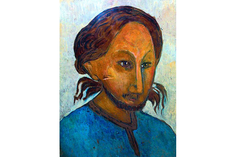 Портрет отца Павла Флоренского работы Комаровского, 1924 г.