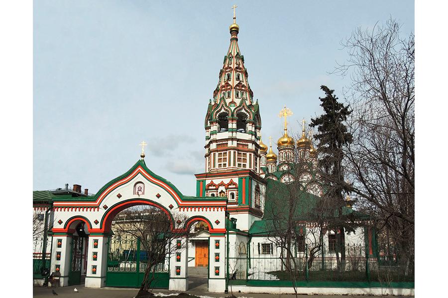 Храм Николая Чудотворца в Хамовниках в Москве